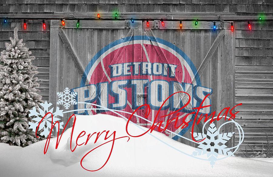 Pistons Photograph - Detroit Pistons by Joe Hamilton