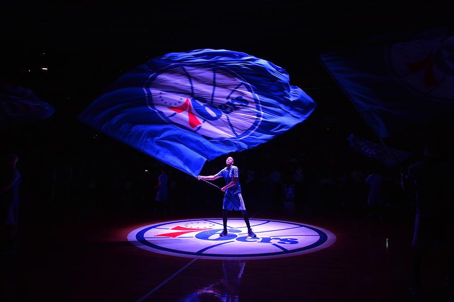 Detroit Pistons  V Philadelphia 76ers Photograph by Jesse D. Garrabrant