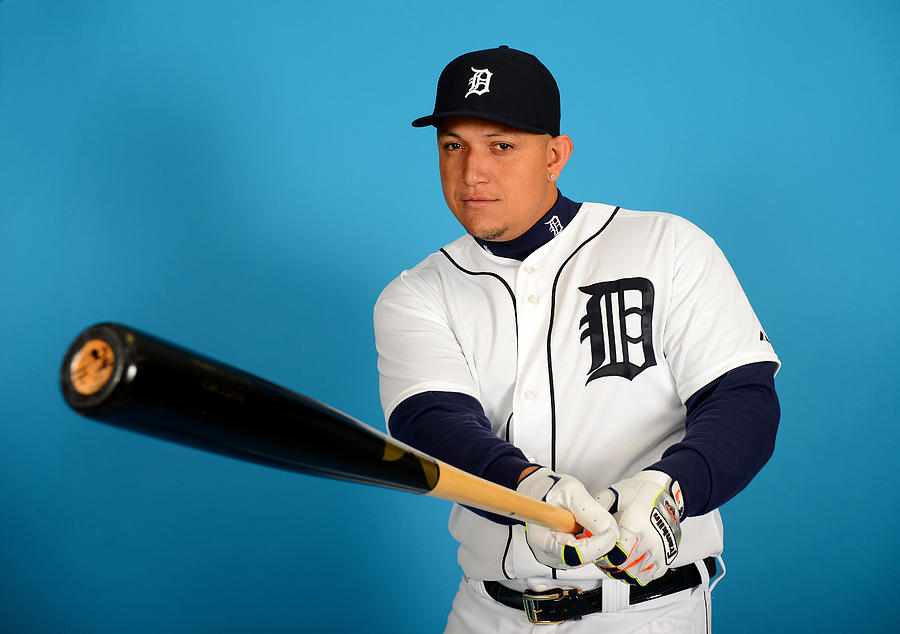 Detroit Tigers Photo Day Photograph by Mark Cunningham