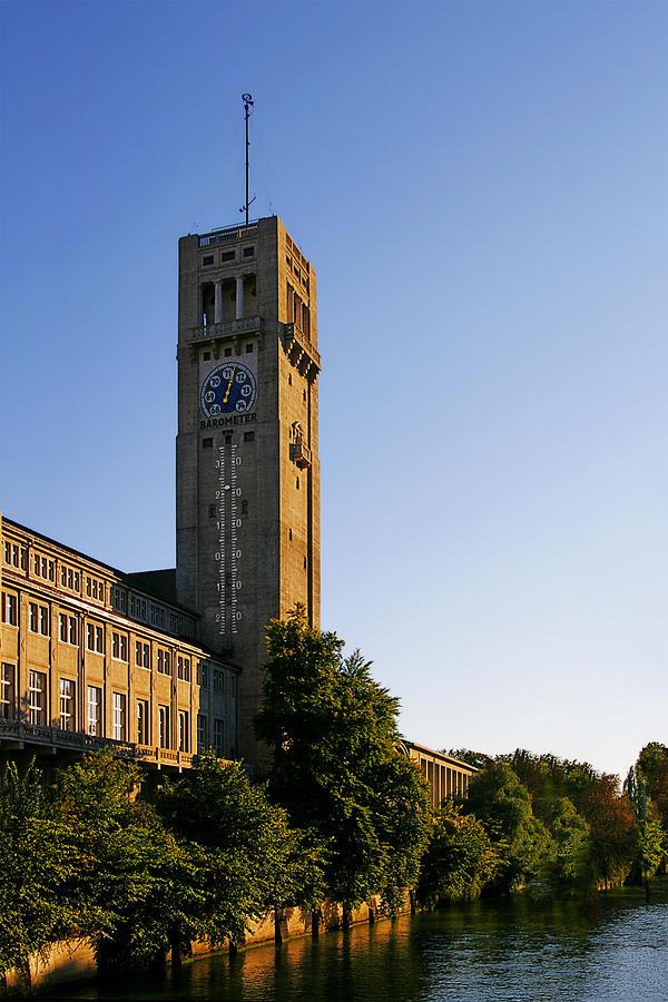 Deutsches Photograph - Deutsches Museum Munich - Meteorological Tower by Christine Till