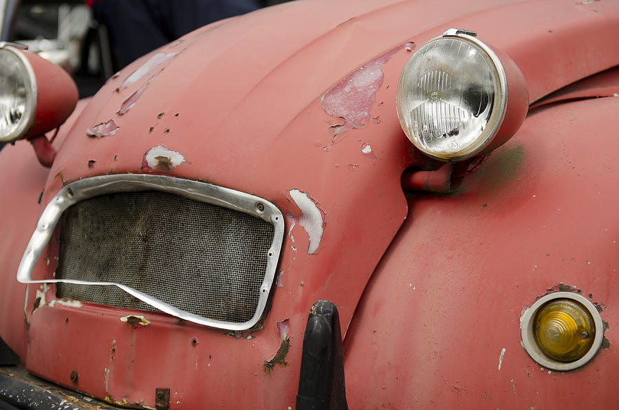 Car Photograph - Deux Chevaux by Robert Holmberg