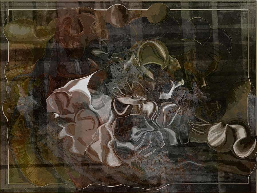 Abstract Digital Art - Devil And The Deep Blue Seam by Jim Williams