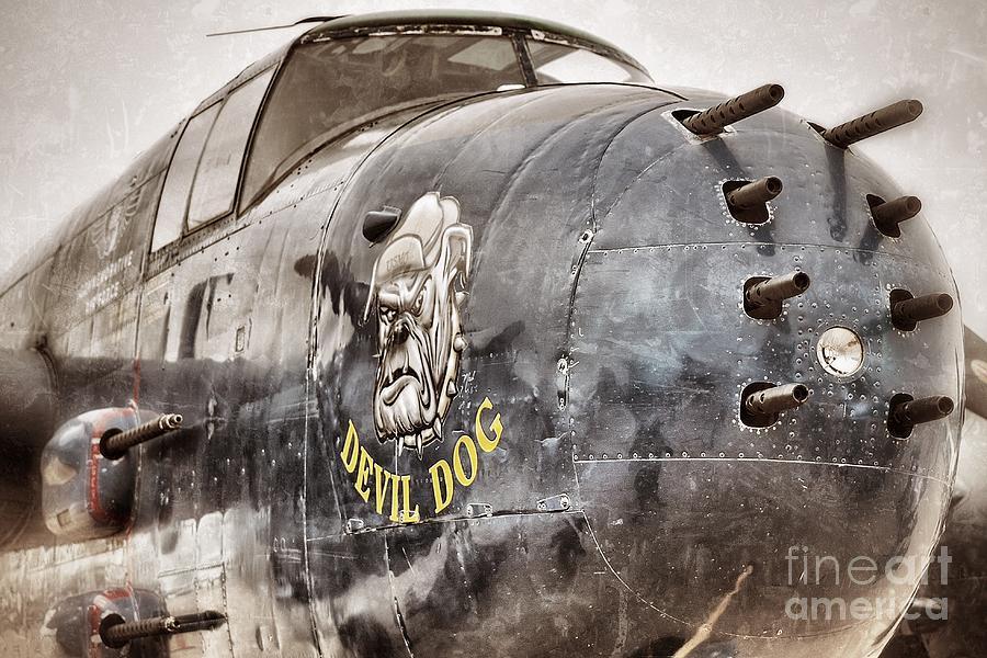 Planes Photograph - Devil Dog by AK Photography
