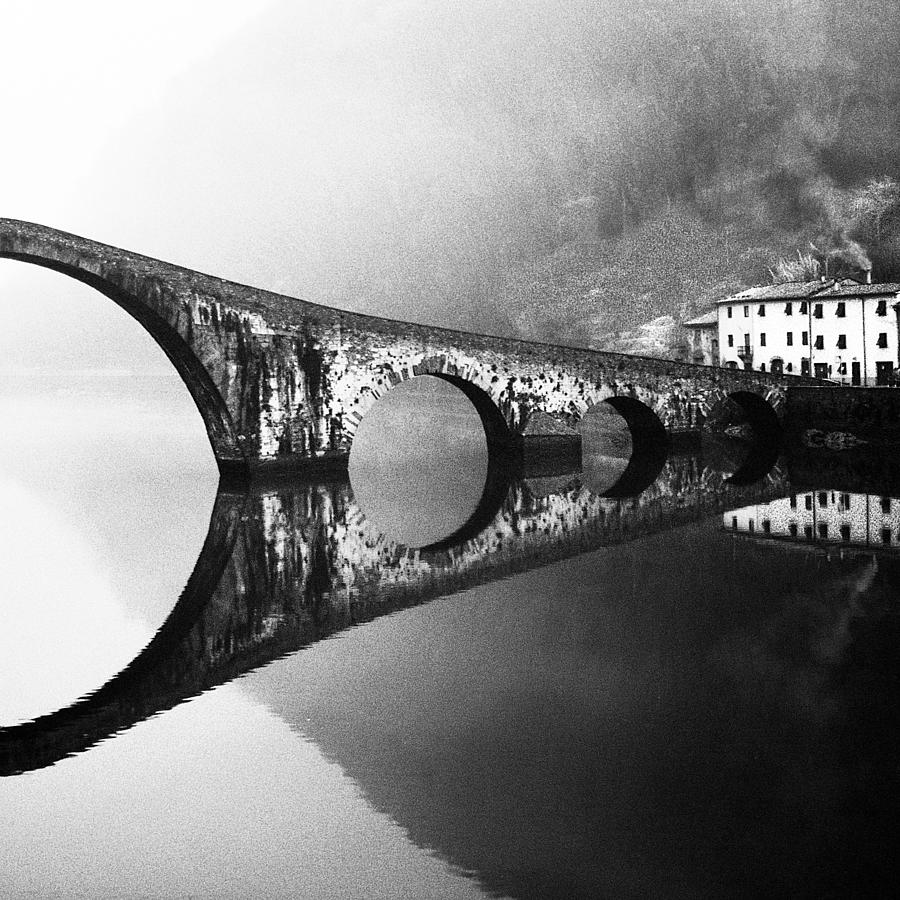 Bridge Photograph - Devils Bridge by Franco Maffei