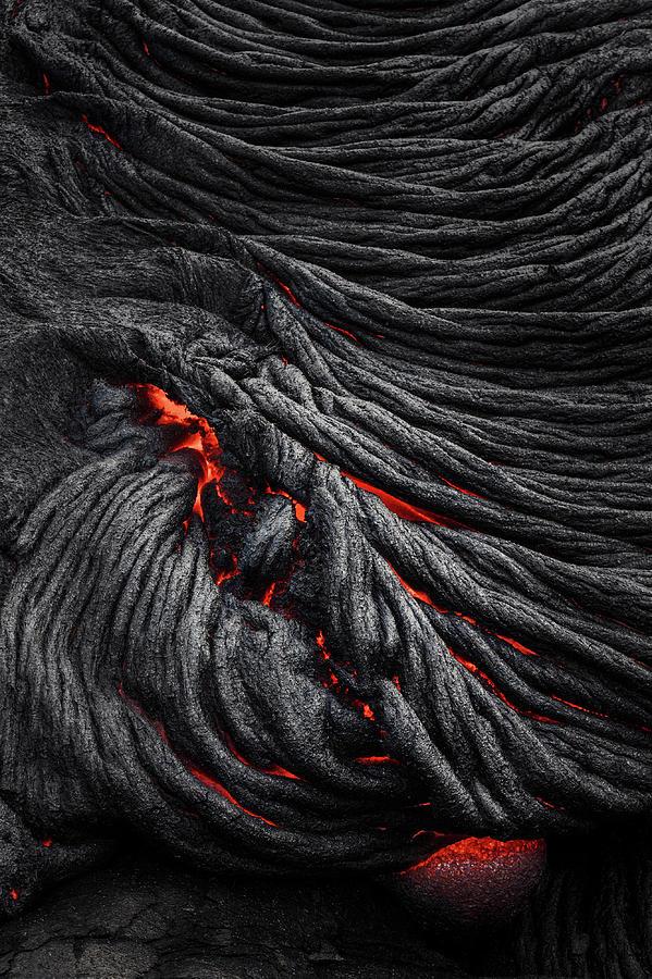 Lava Photograph - Devils Eye by Jerrywangqian