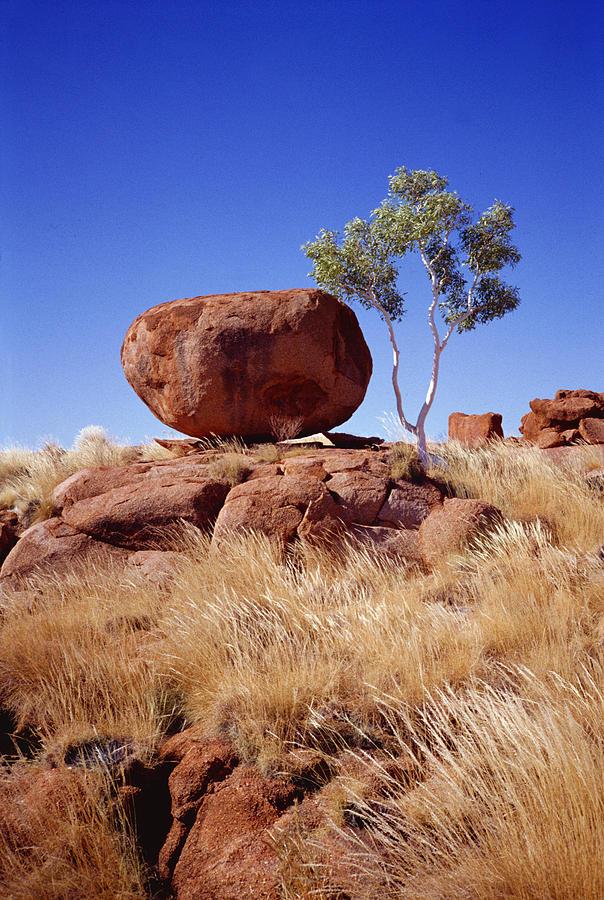 Australia Photograph - Devils Marble by Patrick Jennings
