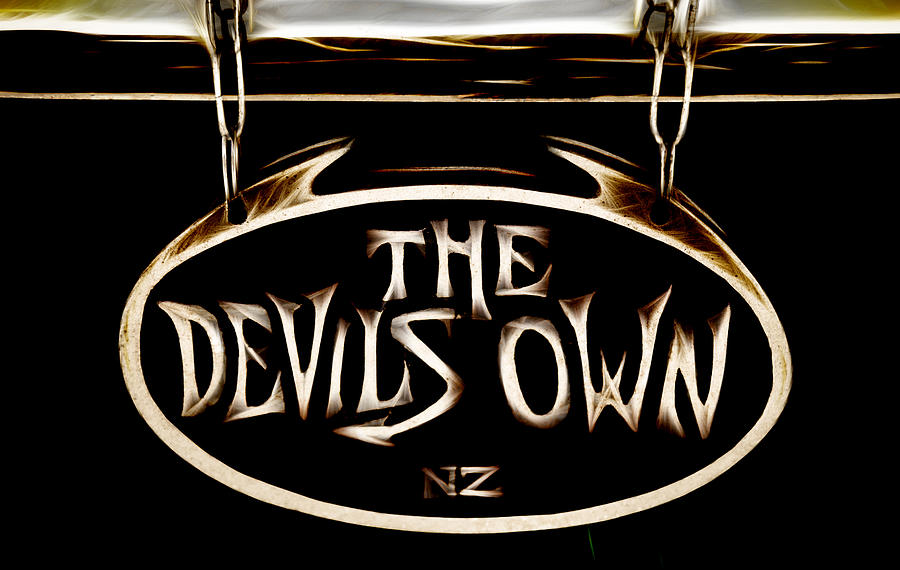The Devil Photograph - Devils Own by Phil motography Clark