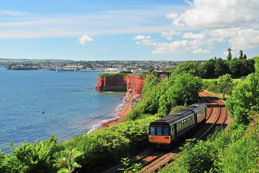 Devon Train Photograph by Maxian