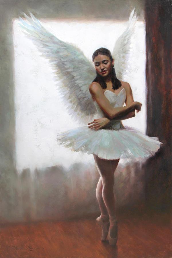 были балерина ангел картинки муцениеце наслаждается материнством