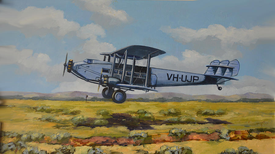 DH Hercules 1929 by Murray McLeod