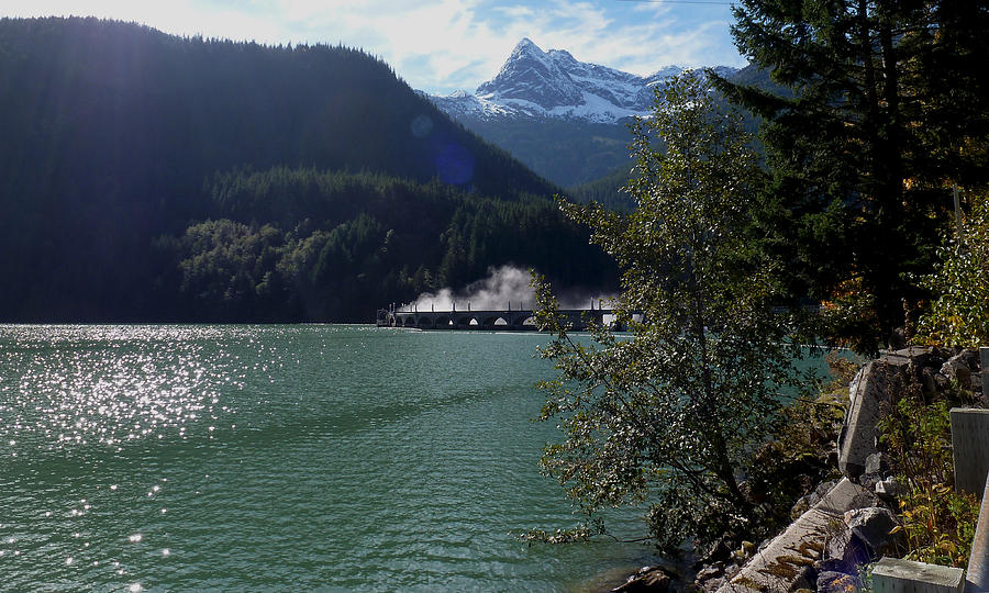 North Cascades Highway Photograph - Diablo Dam by Christine Burdine
