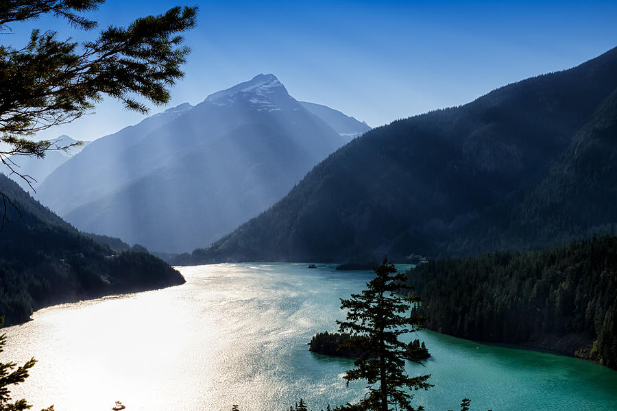 Diablo Lake by Charles Lupica