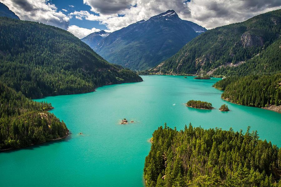 North Cascades National Park Photograph - Diablo Lake  by Pierre Leclerc Photography