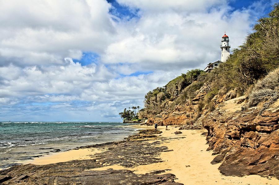 Famous Photograph - Diamond Head Lighthouse by DJ Florek