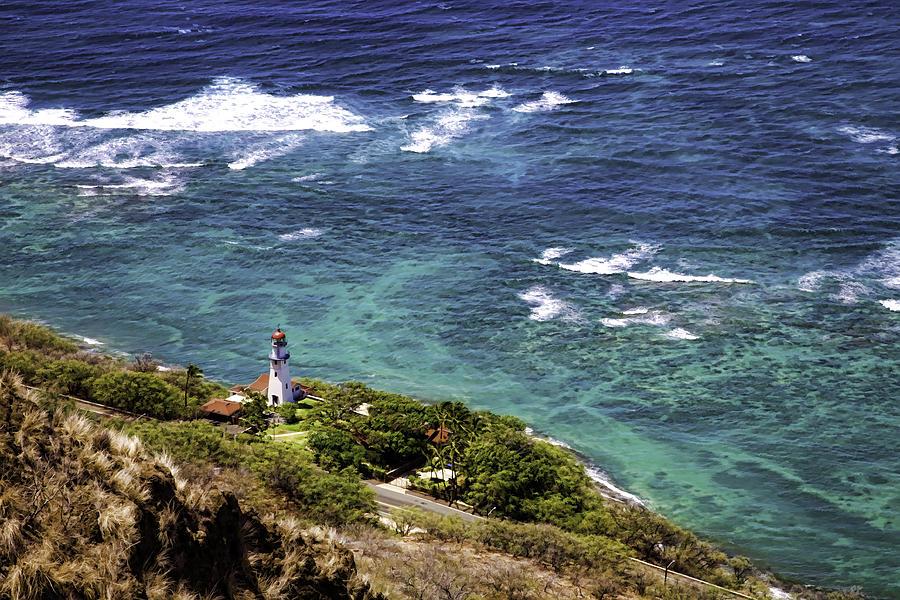 Diamond Head Photograph - Diamond Head Lighthouse by Joanna Madloch
