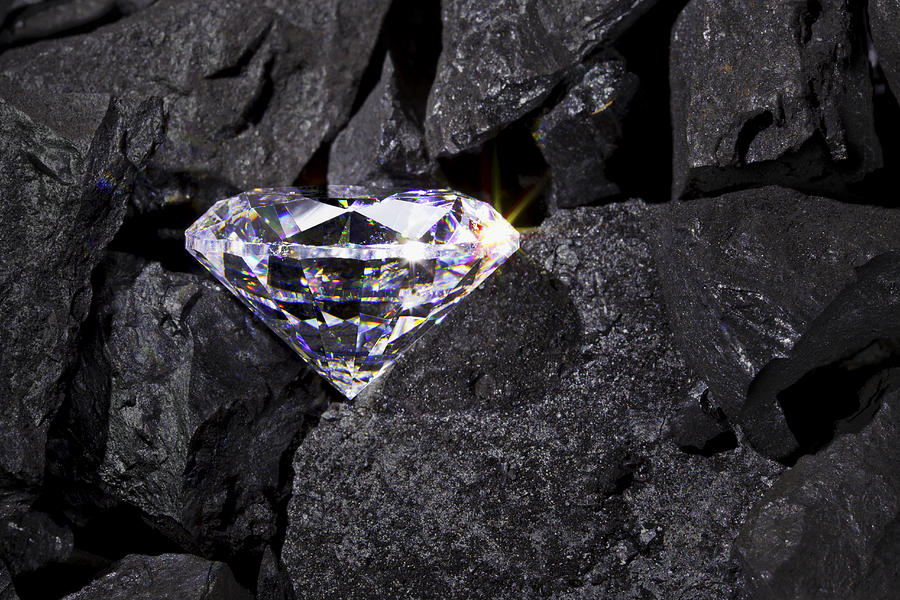 Diamond in the rough Photograph by RTimages