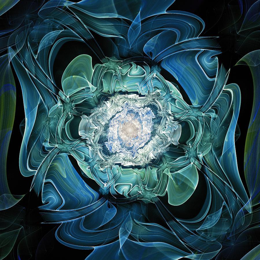 Malakhova Digital Art - Diamond Nest by Anastasiya Malakhova