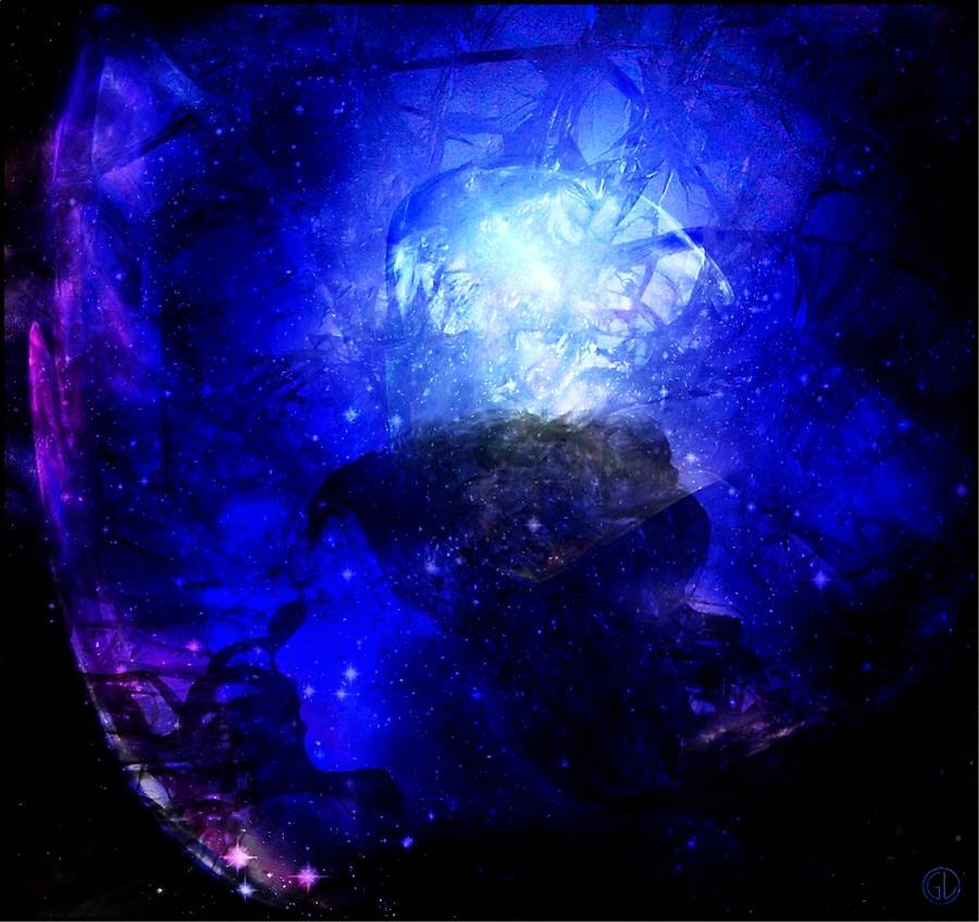 Woman Digital Art - Diamond Queen Of The Night by Gun Legler