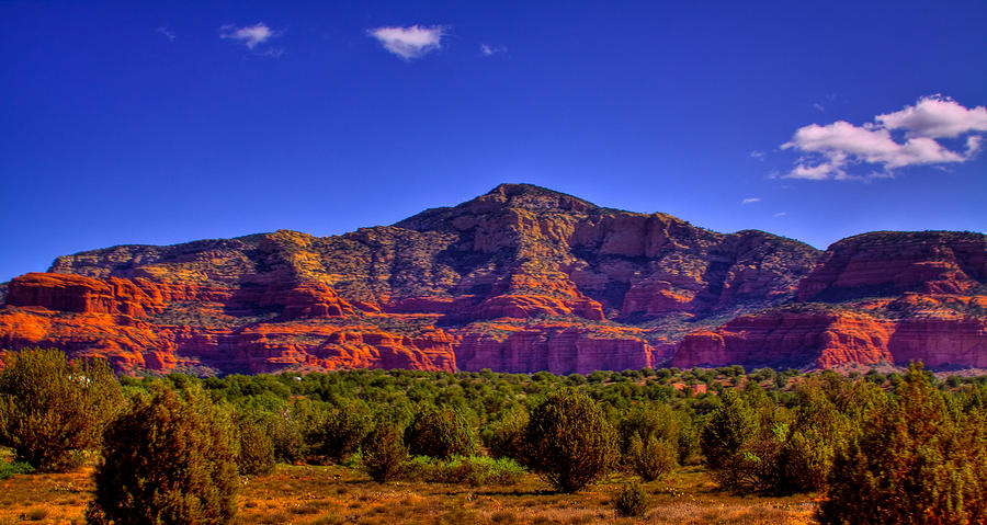 Sedona Photograph - Diamondback Gulch Near Sedona Arizona Iv by David Patterson