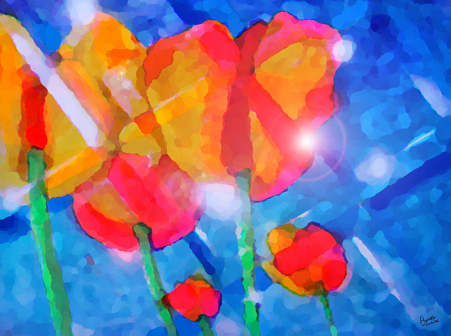 Impressionism Painting - Diamonds by Marcello Cicchini