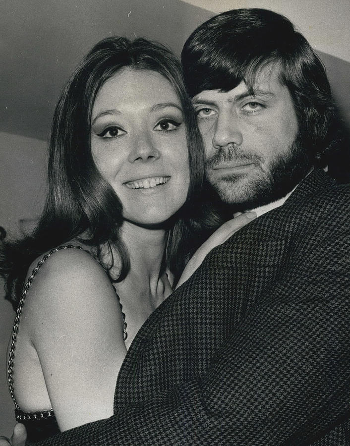 Retro Photograph - Diana Rigg And Oliver Reed To Star In Film �the by Retro Images Archive
