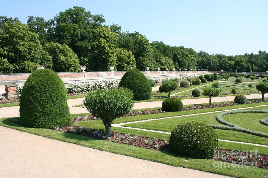 Garden Photograph - Diane De Poitiers Gardens by Christiane Schulze Art And Photography
