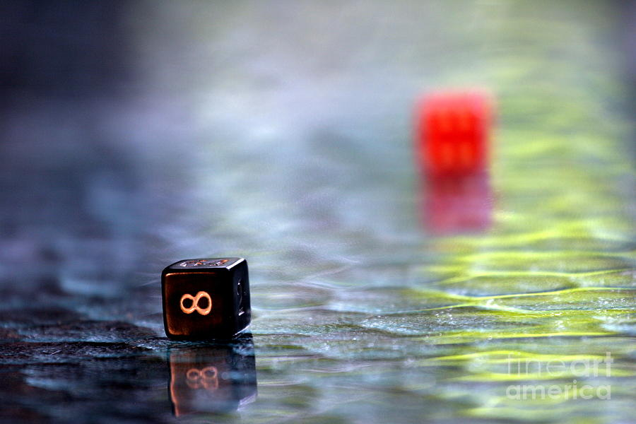 Dice Photograph - Dice by Arie Arik Chen
