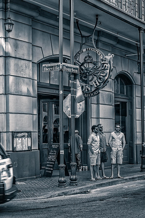 The Big Easy Photograph - Dickie Brennans Bourbon House by Sennie Pierson