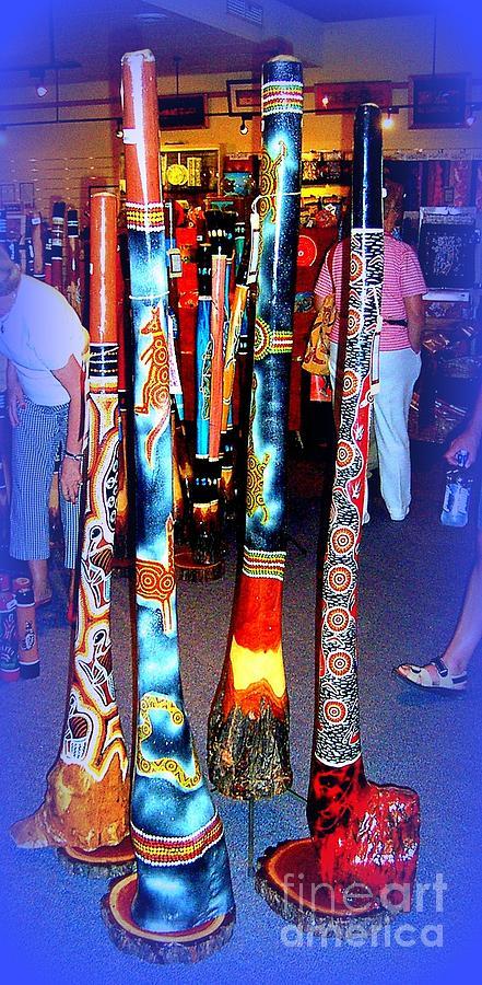 Australia Photograph - Didgeridoos For Sale by John Potts