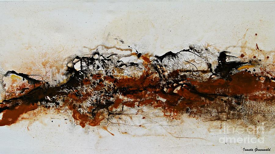 Original Painting - Die Trying1 - Abstract Art by Ismeta Gruenwald