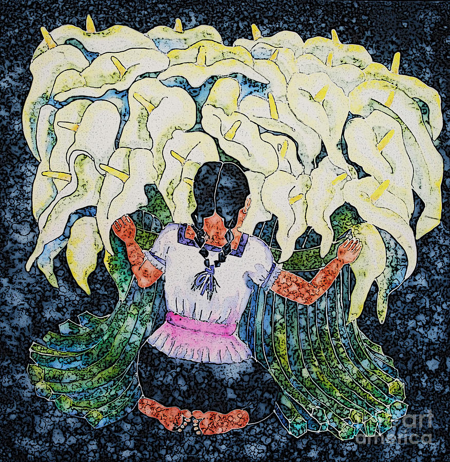 Calla Lily Painting - Diegos Calla by Victoria Page