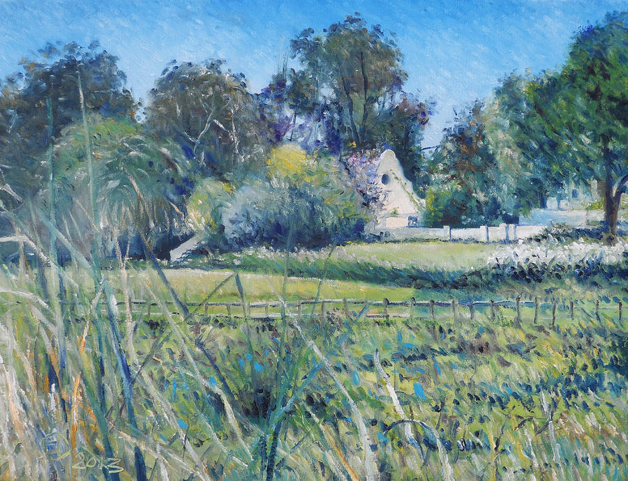 Impressionism Painting - Diemersfontein Western Cape South Africa by Enver Larney