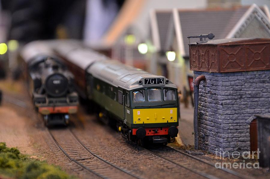 Train Engine For Sale >> Diesel Electric Model Train Railway Engine Photograph By Imran Ahmed