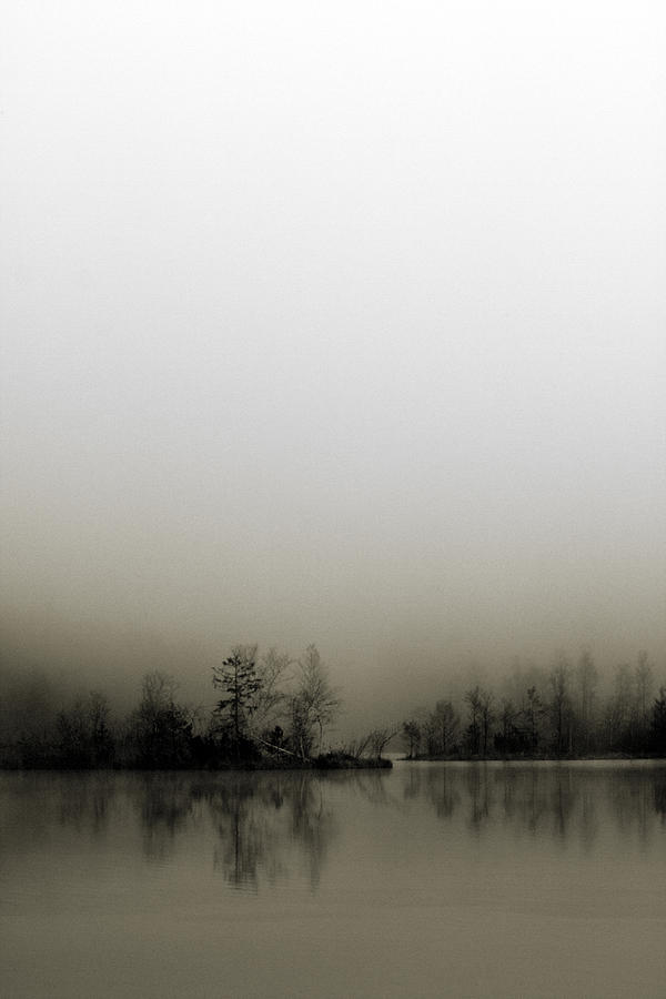 Lake Photograph - Diffusion by Henrik Spranz