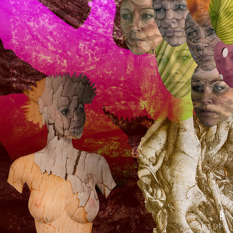 Abstract Digital Art - Digindeep by Sitara Bruns