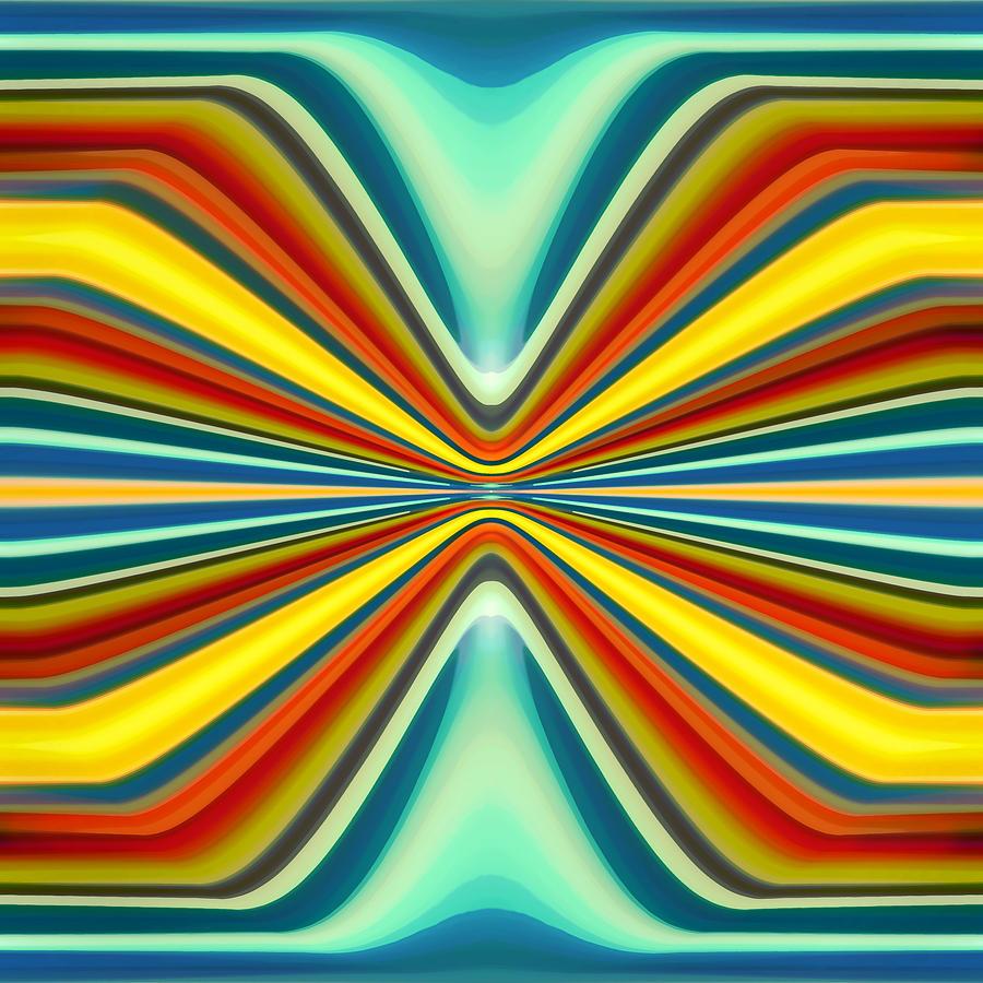 Fury Painting - Digital Art Pattern 8 by Amy Vangsgard