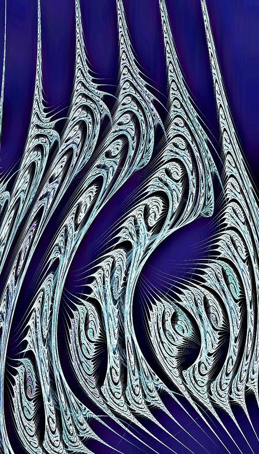 Computer Digital Art - Digital Carvings by Anastasiya Malakhova