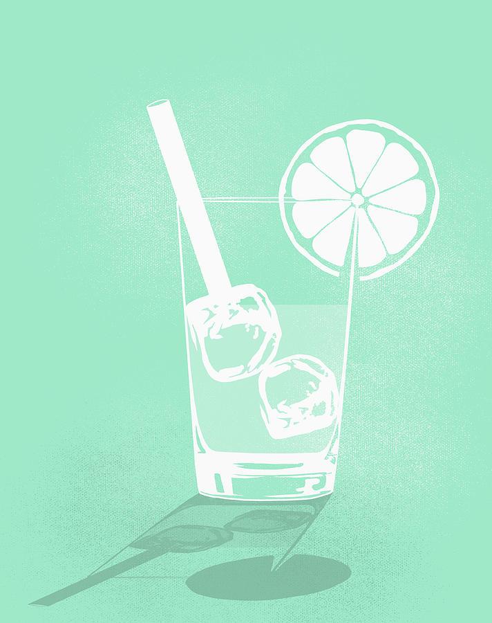 Digital Composite Image Of Cold Drink Digital Art by Malte Mueller