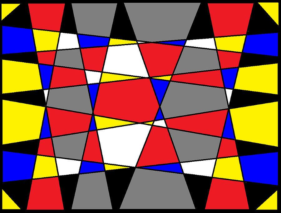Black Digital Art - Digital Design Matrix by Art Speakman