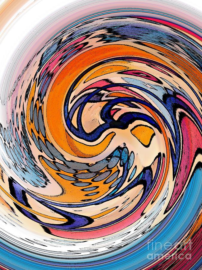 Dunkin Donuts Digital Art - Digital Dunkin by Sarah Loft