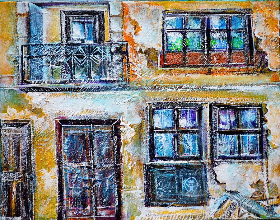 Dilapidated Facade Painting