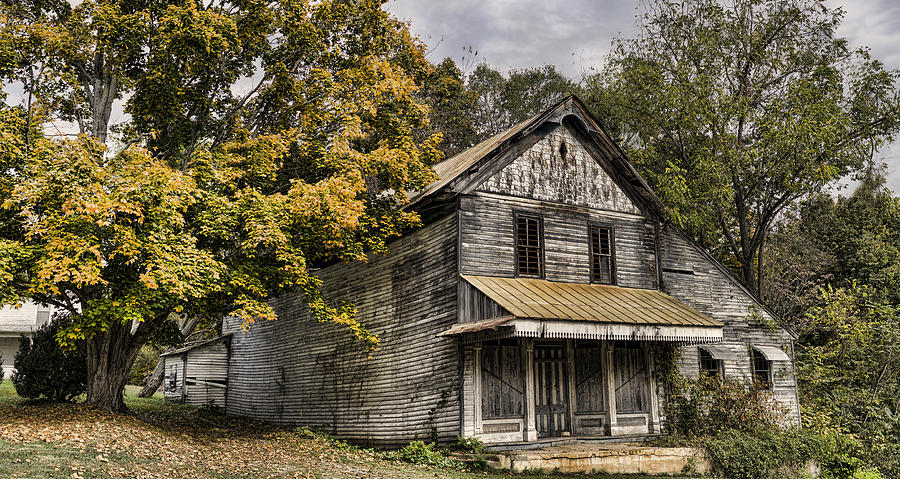 Dilapidated Photograph - Dilapidated by Heather Applegate