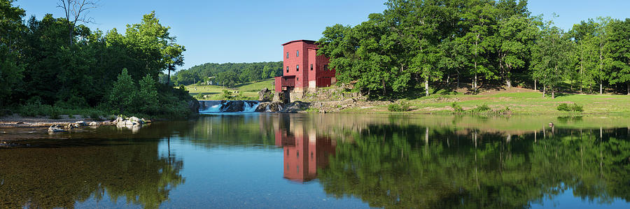 Horizontal Photograph - Dillard Mill At Dillard Mill State by Panoramic Images