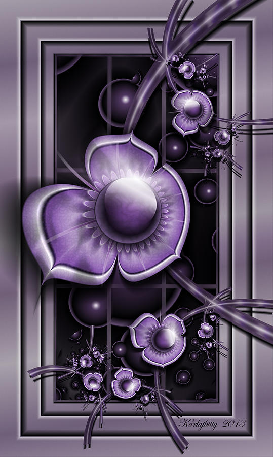 Dimensions Of Purple by Karla White