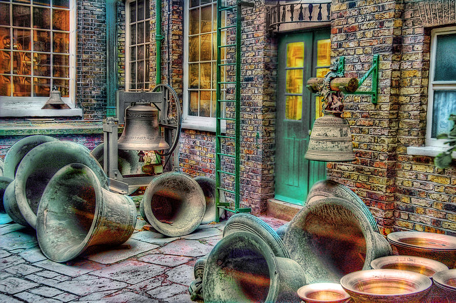 Citylife Photograph - Ding Dong Hosiptal by Ron Shoshani