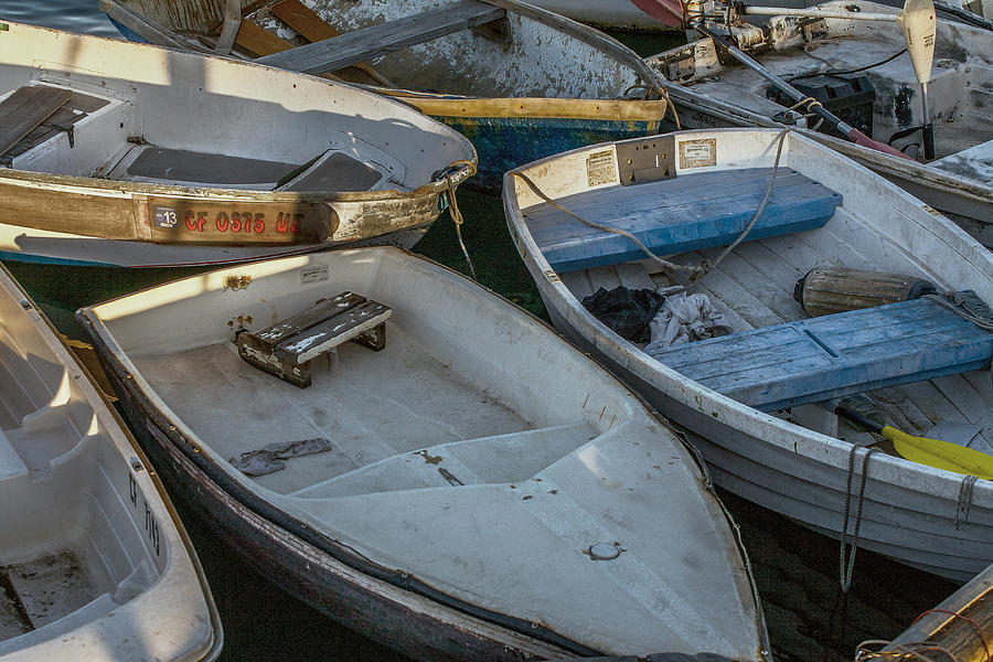 Bay Photograph - Dinghies by Peter Tellone