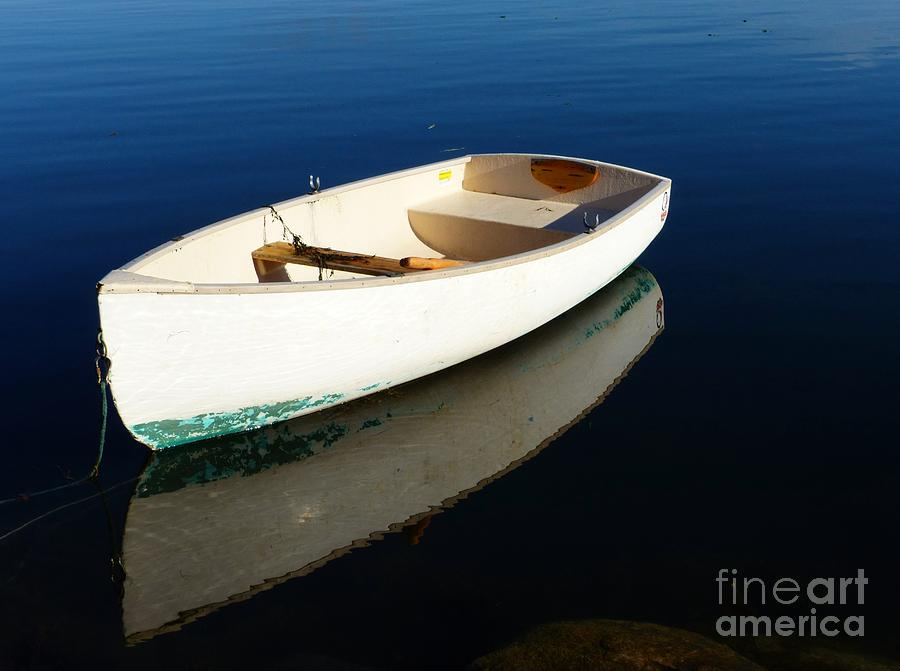 Dingy Reflection by Christine Stack