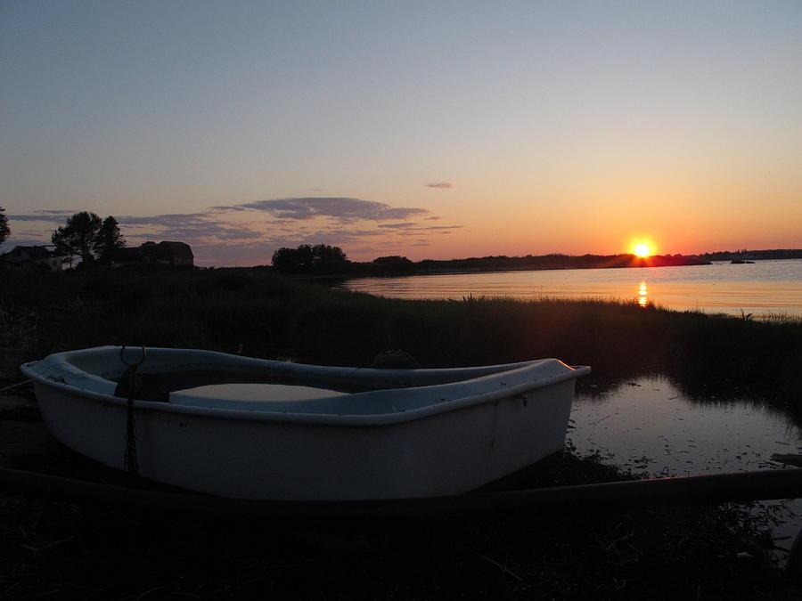 Dingy Sunset Photograph