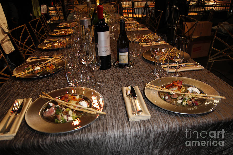 Dining Photograph - Dinner Is Served by Nina Prommer