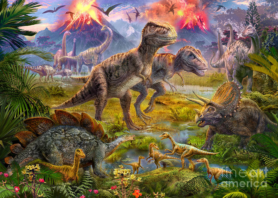 Dinosaurier Art